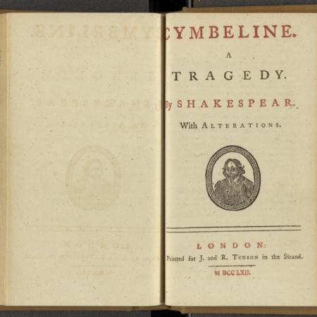 Cymbeline: A Tragedy